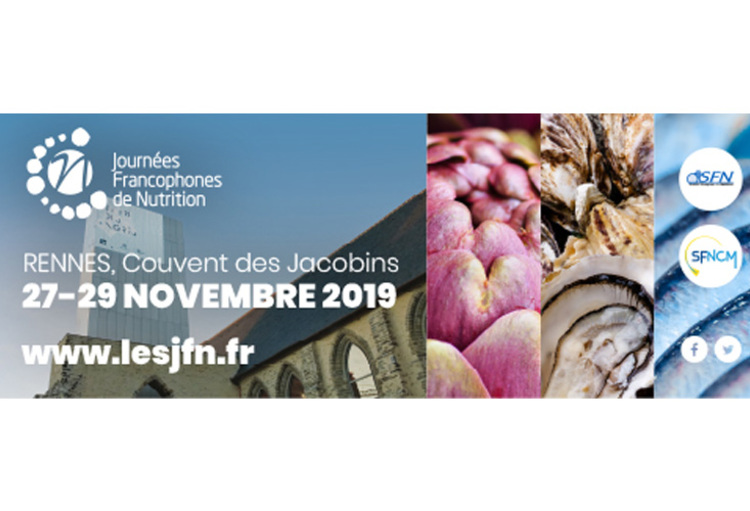 Journée Francophones de nutrition - Couvent des Jacobins - Rennes